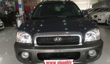 Cần bán Hyundai Santa Fe đời 2004, nhập khẩu chính hãng, số tự động giá 285 triệu tại Phú Thọ