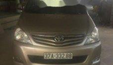 Cần bán xe Toyota Innova SR năm 2011, màu ghi vàng giá 485 triệu tại Nghệ An