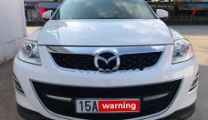 Bán xe Mazda CX 9 3.7 AT AWD năm 2012, màu trắng, nhập khẩu giá 1 tỷ 90 tr tại Hải Phòng