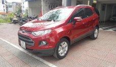 Cần bán lại xe Ford EcoSport Titanium 1.5L AT sản xuất 2016, màu đỏ như mới giá 560 triệu tại Hà Nội
