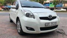 Bán Toyota Yaris 1.3 AT sản xuất năm 2009, màu trắng, nhập khẩu nguyên chiếc giá 400 triệu tại Hà Nội