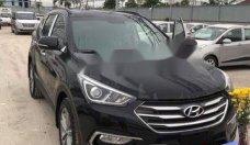 Cần bán Hyundai Santa Fe đời 2016, màu đen, giá tốt giá Giá thỏa thuận tại Tp.HCM