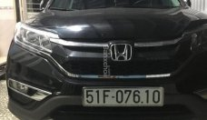 Cần bán xe Honda CRV 2.4 AT đời 2015, màu đen, giá 850 triệu đồng giá 850 triệu tại Tp.HCM