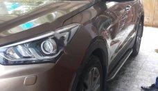 Bán Hyundai Santa Fe 2.2L 4WD năm sản xuất 2016, màu nâu giá 1 tỷ 46 tr tại Tp.HCM