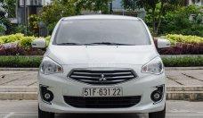 Bán xe ô tô Mitsubishi Attrage màu trắng bản MT, Hỗ trợ vay ngân hàng với lãi suất thấp tại Huế-Quảng Trị giá 450 triệu tại TT - Huế