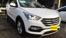 Bán xe Hyundai Santa Fe 2.2 CRDi 4WD năm 2018, màu trắng giá 1 tỷ 129 tr tại Hà Nội
