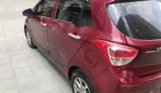 Bán Hyundai Grand i10 AT đời 2015, màu đỏ, nhập khẩu chính chủ giá 368 triệu tại Hà Nội