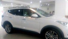 Cần bán xe Hyundai Santa Fe 2.4L 4WD 2018, màu trắng giá 1 tỷ 200 tr tại Tp.HCM