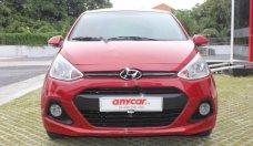 Bán Hyundai Grand i10 đời 2015, màu đỏ, xe nhập số tự động giá 376 triệu tại Tp.HCM