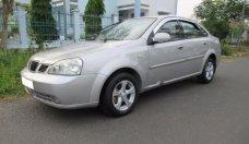 Bán ô tô Daewoo Lacetti 2004, màu bạc giá 185 triệu tại BR-Vũng Tàu