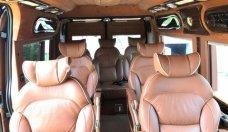 Cần bán lại xe Ford Transit Limousine năm 2014, màu đen, giá 630tr giá 630 triệu tại Tp.HCM