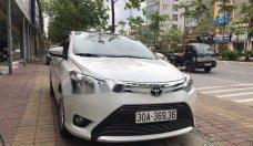 Cần bán xe Toyota Vios 1.5E sản xuất năm 2014, màu trắng chính chủ giá cạnh tranh giá 410 triệu tại Hà Nội