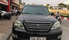Bán Lexus GX 4.7 AT năm 2007, màu đen, nhập khẩu nguyên chiếc  giá 1 tỷ 360 tr tại Hà Nội