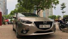 Bán Mazda 3 2.0 AT sản xuất năm 2015, màu vàng giá cạnh tranh giá 655 triệu tại Hà Nội