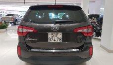 Cần bán xe Kia Sorento đời 2017, màu nâu như mới giá 740 triệu tại Tp.HCM