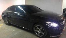 Cần bán gấp Mercedes C300 AMG 2016, màu đen giá 1 tỷ 750 tr tại Tp.HCM
