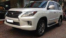 Cần bán Lexus LX 570 2013, màu trắng, xe nhập Mỹ, Biển Hà Nội giá 4 tỷ 100 tr tại Hà Nội