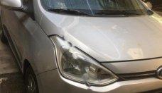 Bán ô tô Hyundai Grand i10 1.0 AT năm 2015, màu bạc, nhập khẩu giá 346 triệu tại Hà Nội
