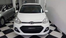 Bán Hyundai i10 sedan 1.2MT full năm sản xuất 2016, màu trắng, nhập khẩu, giá chỉ 375 triệu giá 375 triệu tại Hà Nội