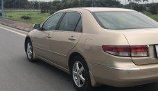 Cần bán gấp Honda Accord năm 2004 màu vàng, 350 triệu, xe nhập giá 350 triệu tại Hà Nội
