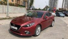 Cần bán gấp Mazda 3 2.0AT năm sản xuất 2017, màu đỏ giá cạnh tranh giá 725 triệu tại Hà Nội