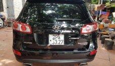 Bán ô tô Hyundai Santa Fe eVGT 2011, màu đen, nhập khẩu số tự động   giá 650 triệu tại Hà Nội
