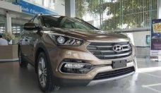 Bán Hyundai Santa Fe sản xuất 2018, màu nâu giá 1 tỷ 90 tr tại BR-Vũng Tàu