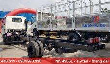 Bán Isuzu 1.9 tấn Vinh Phát NK490SL - xe tải thùng dài 6m giá 540 triệu tại Hà Nội
