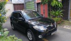 Gia đình bán Hyundai Santa Fe máy dầu 2012 nhập Hàn nguyên chiếc, màu đen đẹp giá 715 triệu tại Tp.HCM