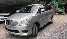 Bán Toyota Innova 2.0E năm sản xuất 2013, màu bạc xe gia đình giá 550 triệu tại Hà Nội