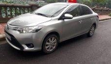 Cần bán gấp Toyota Vios E năm 2015, màu bạc, giá tốt giá 420 triệu tại Hà Nội