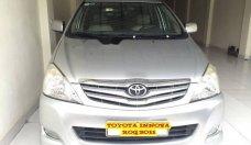 Cần bán gấp Toyota Innova 2.0 G năm 2011, màu bạc chính chủ  giá 480 triệu tại Hà Nội