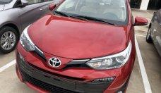 Bán Toyota Vios 1.5G CVT đời 2019, màu đỏ, giá chỉ 606 triệu giá 606 triệu tại Tp.HCM