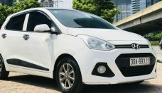 Cần bán Hyundai Grand i10 AT sản xuất năm 2015, màu trắng, nhập khẩu nguyên chiếc, 380 triệu giá 380 triệu tại Hà Nội