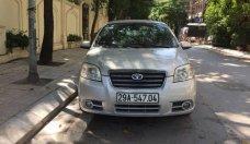 Cần bán lại xe Daewoo Gentra sản xuất năm 2009, màu bạc chính chủ, giá 195tr giá 195 triệu tại Hà Nội
