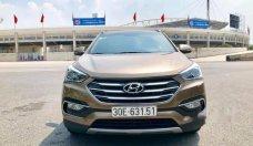 Bán Hyundai Santa Fe năm 2016, màu nâu giá 1 tỷ 120 tr tại Hà Nội