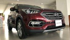 Bán Hyundai Santa Fe, máy xăng, bản full option, màu đỏ, xe giao ngay tại Hyundai Quận 4 giá 1 tỷ 100 tr tại Tp.HCM