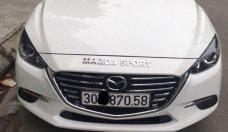 Cần bán Mazda 3 AT năm 2017, màu trắng giá 720 triệu tại Hà Nội