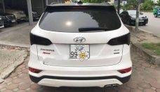 Cần bán Hyundai Santa Fe 2.4L năm sản xuất 2017, màu trắng giá 1 tỷ 70 tr tại Hà Nội