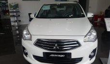 Mitsubishi Attrage 2018 MT trắng, tháng ngâu siêu khuyến mại giảm giá 10 triệu, tặng full phụ kiện, hỗ trợ trả góp 90 giá 425 triệu tại Hà Nội