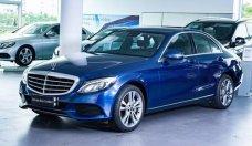 Bán xe Mercedes C250 2017, cũ chính hãng, đăng ký đầu tiên 03.2018, chạy lướt 3.500 km, màu xanh giá 1 tỷ 679 tr tại Tp.HCM