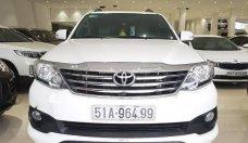 Cần bán Toyota Fortuner Sportivo 2014, màu trắng giá 810 triệu tại Tp.HCM
