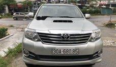 Bán Toyota Fortuner năm sản xuất 2015, màu bạc   giá 855 triệu tại Hà Nội