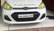 Cần bán Hyundai Grand i10 1.2 bản đủ năm sản xuất 2016, màu trắng, nhập khẩu, giá chỉ 365 triệu giá 365 triệu tại Hà Nội