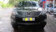 Bán xe Toyota Fortuner 2.7V AT đời 2015, màu đen  giá 885 triệu tại Hà Nội