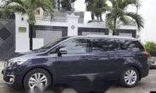 Bán ô tô Kia Sedona năm sản xuất 2015, màu xanh đen giá 1 tỷ 50 tr tại Tp.HCM