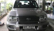Bán lại xe Toyota Land Cruiser năm sản xuất 2004, màu bạc giá 439 triệu tại Tp.HCM