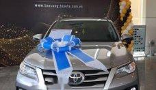 Bán ô tô Toyota Fortuner 2.4G đời 2018, màu bạc giá 1 tỷ 26 tr tại Tp.HCM