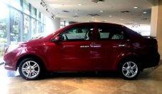 Bán Chevrolet Aveo LT 1.4L MT sản xuất 2018, màu đỏ giá 399 triệu tại Tp.HCM