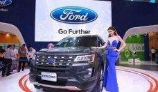 Bán Ford Exploere 2018 mới động cơ mạnh mẽ, thiết kế hiện đại, thông minh vượt trội, tiết kiệm nhiên liệu giá 2 tỷ 180 tr tại Tp.HCM